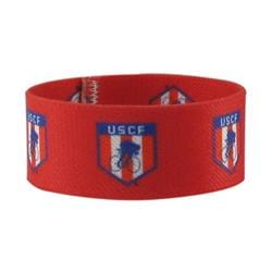 "1"" Dye Sublimated Stretchy Elastic Bracelet"