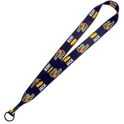 "1"" Dye Sublimated Lanyard with Metal Split Ring - 3 DAY SERVICE"