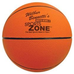 Large Rubber Basketball