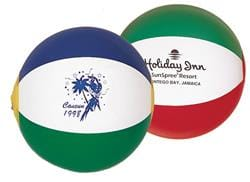 "6"" Multicolor Beach Balls"