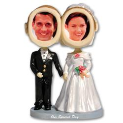 Bride & Groom Bobble Heads