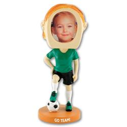 Girl's Soccer Bobble Heads