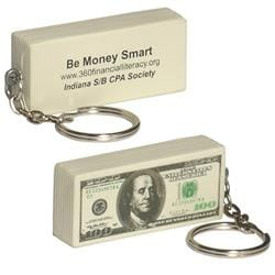 $100 BILL KEY CHAIN