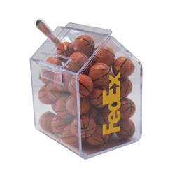 Candy Bin with Chocolate Balls