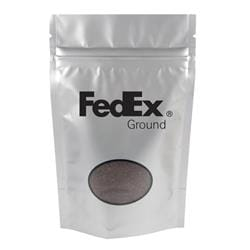 Silver Coffee Bag - 4 oz.