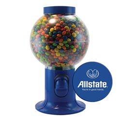 Blue Gumball Machine with Chocolate Littles