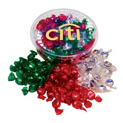 Designer Plastic Tray with Hard Foil Candy