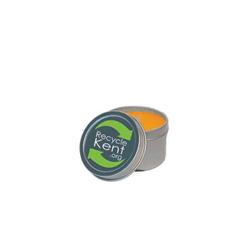 2 oz. Round Tin Soy Candle (Mango and Papaya)