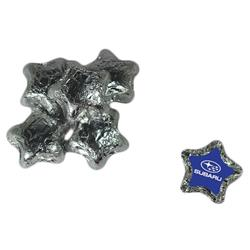 Individually Wrapped Candy Stars - Silver