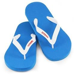 EXPRESS - Flip Flop with Strap Print