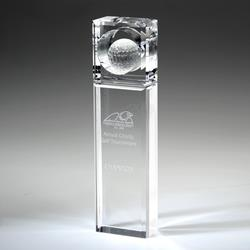 Award- Awards, Trophy,Absolute Golf Trophy 8-1/2""