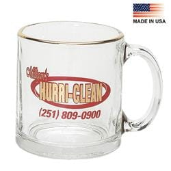 13oz. Glass Coffee Mug