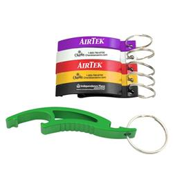 Arc Bottle Opener W/Key chain