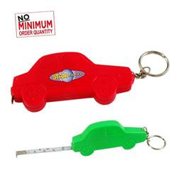 3' Car Tape Measure W/Key chain