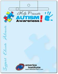 Awareness Memo Board - 8.5x11 Laminated - 14 pt.