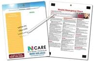 Healthcare Memo Board - 8.5x11 Laminated - 14 pt.