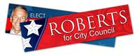 Political Campaign Bumper Sticker - Vinyl UV Coated (11x3)