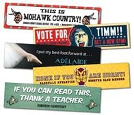 School Removable Rectangle Bumper Sticker / Decal - Vinyl UV Coated - 10.5x2.625