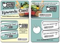 Extra-Thick UV-Coated (1S) Plastic Key Tag/Wallet Card Combo - 3.375x4.875 - 14 pt.