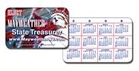 Political Laminated Wallet Card - 3.5x2.25 (2-Sided) - 14 pt.