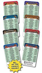 Laminated Wallet Card - 3.5x2.25 Football Schedules