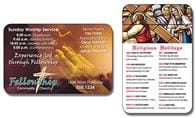 Religious Laminated Wallet Card - 3.5x2.25 (2-Sided)