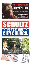 Political Laminated Business Card - 3.5x2 (2-Sided)