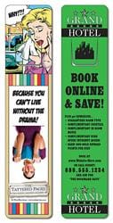 Bookmark - 1.75x8 Extra-Thick Laminated w/Page Holder - 24 pt.