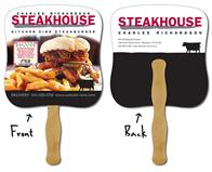 Delivery Hand Fan - 7.375x7.75 Laminated