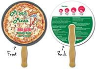 Delivery Hand Fan - 8.5 Inch Diameter Circle