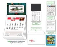 Magna-Cal Business Card Magnet Calendar - July 2013