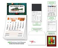 Magna-Cal Business Card Magnet Calendar - Oct. 2013