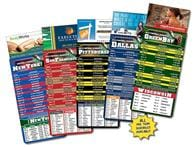 Magna-Card Business Card Magnet - Football Schedules (3.5x9)