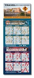 Magna-Card Business Card Magnet - Basketball/Hockey Combo Schedules (3.5x9)