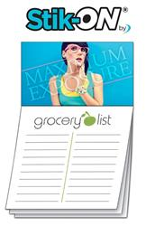 Magna-Note Business Card Magnet - Stock Grocery List Stik-ON(R)