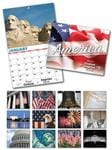 13 Month Custom Appointment Wall Calendar - PATRIOTIC