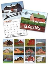 13 Month Custom Appointment Wall Calendar - BARNS