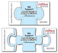 Awareness Magnet - 3-Piece Puzzle Shape (3.5x2) - 25 Mil.