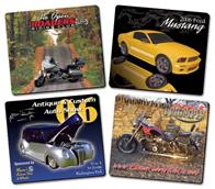 Auto Showcase Announcement Magnet - 3.5x4 Round Corners - 25 mil.