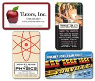 School Business Card Magnet - 3.5x2 Round Corners - 25 mil.