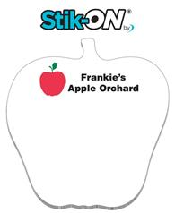 Stik-ON(R) Shape Adhesive Notes - Apple (3.7x3.9) - 50 Sheets