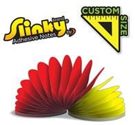 Slinky(R) Adhesive Notes - Custom Shape - 100 Sheets
