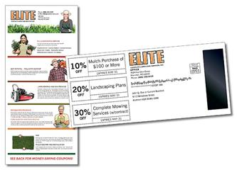 Mag Tab Mail Card (3.625x8) - 10 pt. Card with 1x3 Gap Magnet Attached