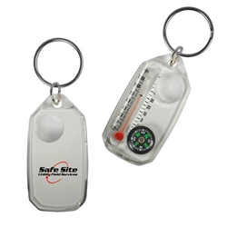 3-in-1 Compass with Key-Ring