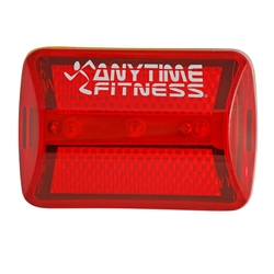 3-LED Red Safety Flasher