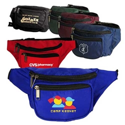 3-Zippered Fanny Pack