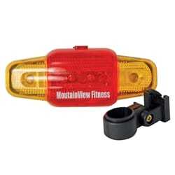 7 Function Red-Yellow Dual-Color Safety Flasher