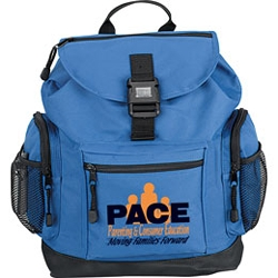 Backpack with Reflector Buckle