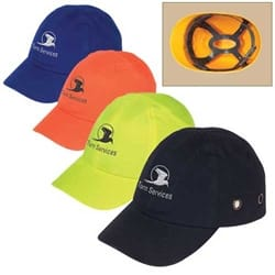 Baseball Bump Cap  with 4-Point Pinlock Suspension