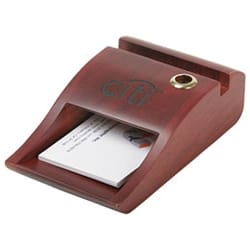 Biz-Card/Memo Pad holder & Pen Stand in One